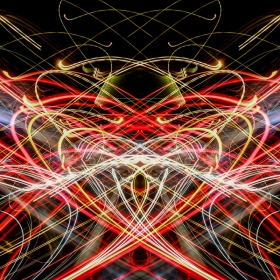 Light abstract chaos