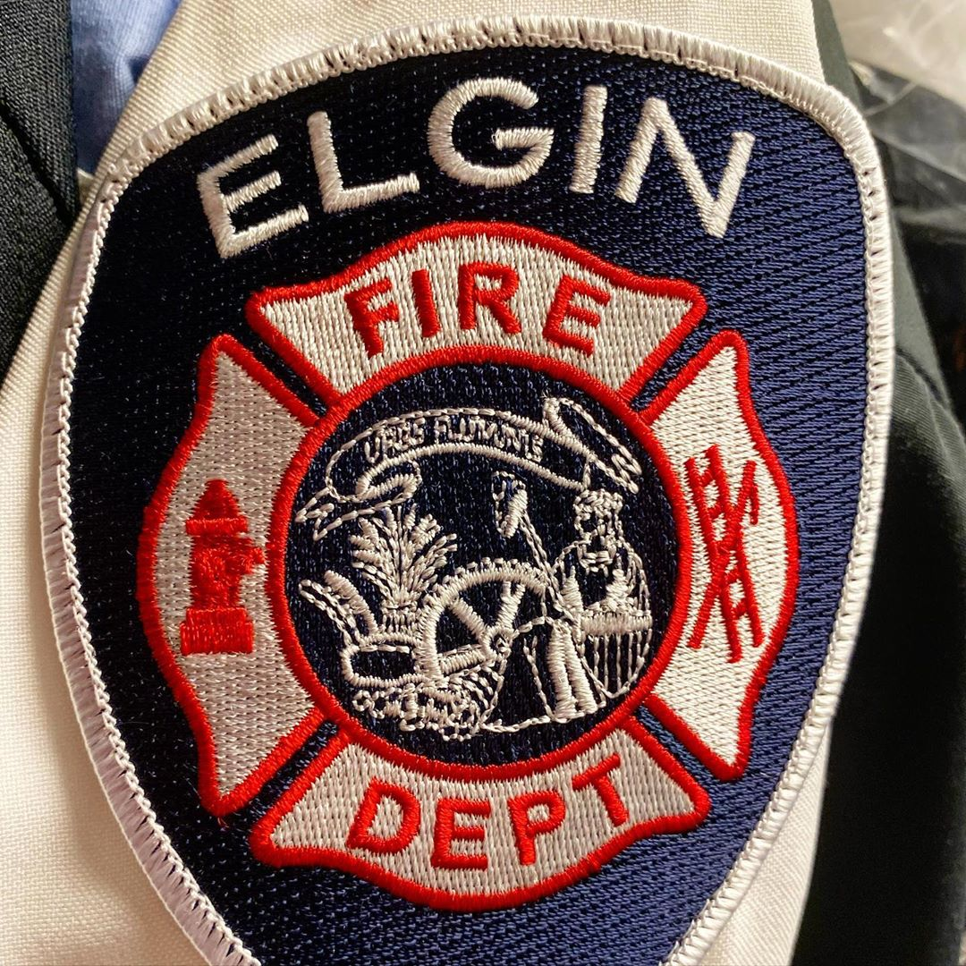 Fireman's patch for the Elgin Fire Department