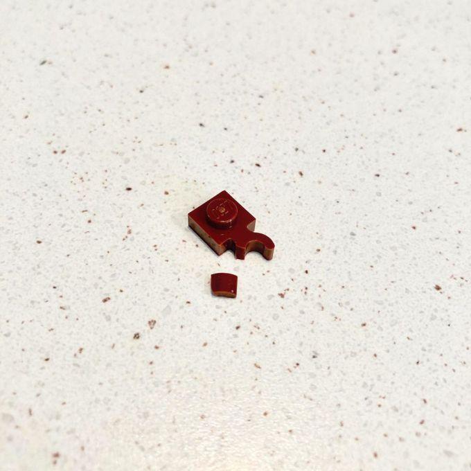 Broken Lego piece